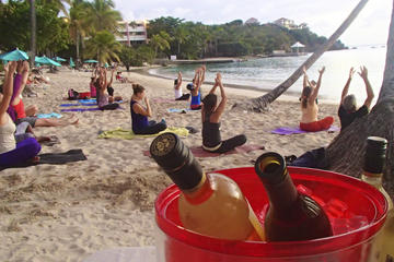 St Thomas Vinyasa Yoga Class plus Wine Tasting