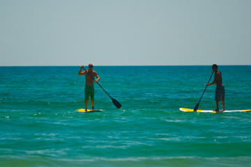 Stand Up Paddle Board Lessons on South Padre Island