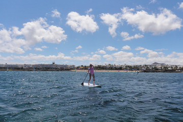 Stand-Up Paddleboard Experience in Lanzarote