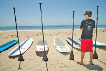 Stand-Up Paddleboard Lesson in Santa Barbara