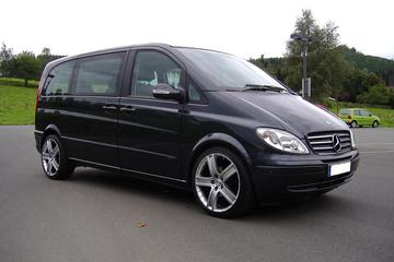 Stockholm Bromma Airport BMA Luxury Van Private Departure Transfer