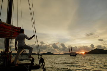 Sunset Dinner Cruise of Phang Nga Bay Aboard the June Bahtra from Phuket