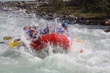 Sunwapta Challenge Rafting Run Class III Rapids