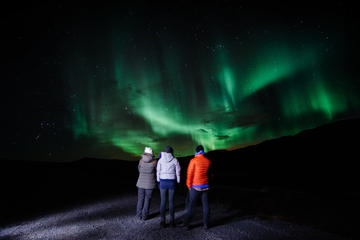 Super Jeep Evening including Northern Lights and Caving plus a Lobster Dinner