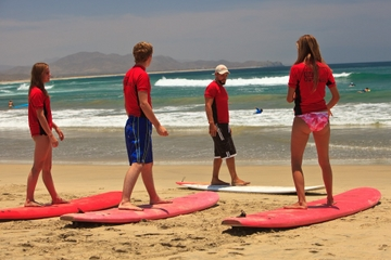 Surfing Lesson in Los Cabos