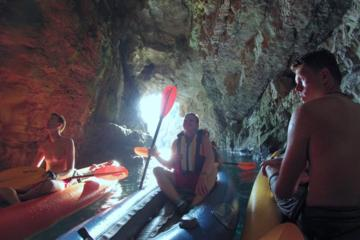 The Blue Cave Kayak and Snorkeling Adventure from Kotor