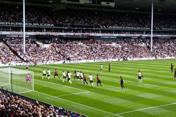 Tottenham Hotspur Football Match at White Hart Lane Stadium