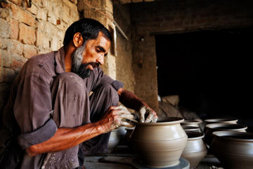 Traditional Clay Pottery Tour with Firefly Watching Cruise in Penang