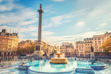 Trafalgar Square and Convent Garden Tour with Afternoon Tea in London