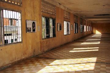 Tuol Sleng Genocide Museum from Phnom Penh