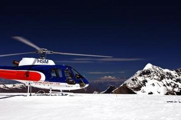 Twin Glacier Helicopter Flight departing Fox Glacier