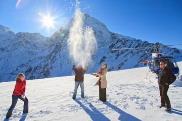 Twin Glacier Helicopter Flight departing Franz Josef