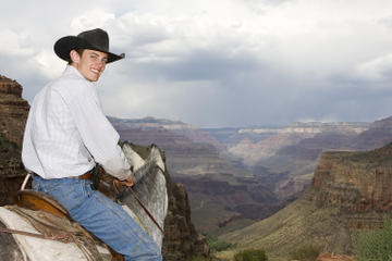 Viator Exclusive: Grand Canyon South Rim Overnight Trip with Mule Ride from Phoenix