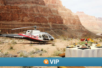 Viator VIP: Grand Canyon Sunset Helicopter Tour with Dinner