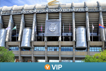 Viator VIP: Santiago Bernabeu Stadium Tour with Dinner in Madrid