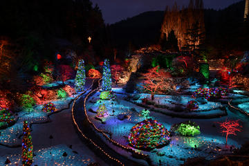 Victoria and Butchart Gardens Christmas Tour