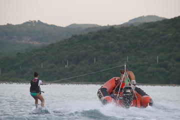 Wakeboarding and Waterskiing Experience in Tivat Bay from Kotor or Tivat