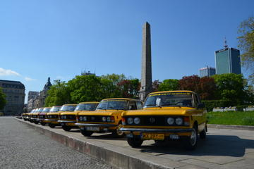 Warsaw Airport Private Departure Transfer by Retro Fiat