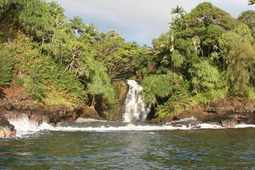 Waterfall Volcano Tour Combination from Hilo