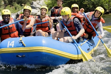 White Water Rafting Tour from San Martin de los Andes at Rio Chimehuin