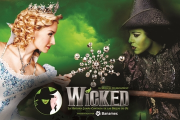 Wicked Mexico City Broadway Musical With Transportation