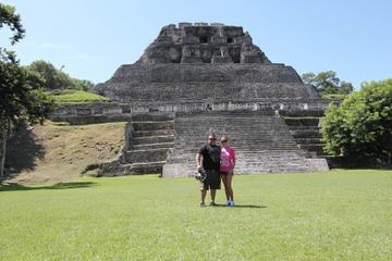 Xunantunich Mayan Ruin from Belize City