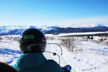 Yukon Snowmobiling Tour