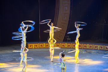 Zhujiajiao Private Tour and VIP Acrobatic Show from Shanghai